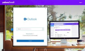 Setup yahoo mail in outlook