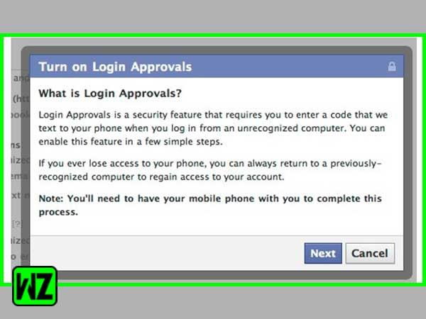 Click on Login Approvals